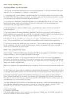 GMAT essay and AWA tips
