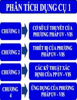 Tài liệu Chương 1: Cơ sở lý thuyết phương pháp UV - VIS pdf