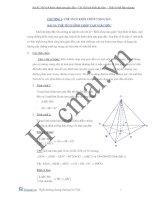 Bài toán thể tích khối chóp tam giác LTĐH