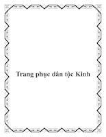 Tài liệu Trang phục dân tộc Kinh doc