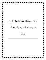 Tài liệu SEO từ khóa không dấu và sử dụng nội dung có dấu pdf