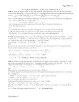 Tài liệu ĐỀ THI THỬ ĐẠI HỌC NĂM HỌC 2012-2013 MÔN LÝ ĐỀ 32 pdf