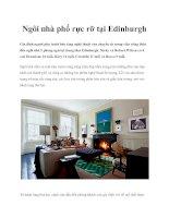 Tài liệu Ngôi nhà phố rực rỡ tại Edinburgh pdf