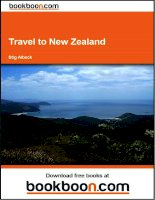 Tài liệu Travel to New Zealand doc
