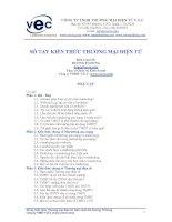 Tài liệu Sổ tay kiến thức thương mại điện tử potx