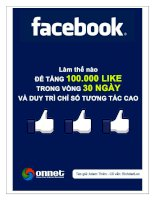 Facebook marketing toàn tập - Tập 2