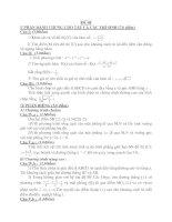 Tài liệu Đề thi thử tốt nghiệp trung học phổ thông - Đề 68 pptx