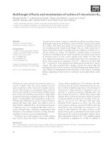Tài liệu Báo cáo khoa học: Antifungal effects and mechanism of action of viscotoxin A3 docx