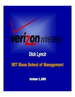 Tài liệu MIT Sloan School of Management pot