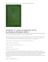 Tài liệu Company ''''A'''', corps of engineers, U.S.A., 1846-''''48, in the Mexican war doc