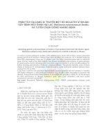 Tài liệu Phân tích đa dạng di truyền một số ISOLATES vi khuẩn gây bệnh héo xanh hại lạc (Ralstonia solanacearum Smith) và tuyển chọn giống kháng bệnh docx