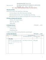 Tài liệu Giáo án số 2 - Bài 2: ĐẶC ĐIỂM KINH DOANH CỦA NHÀ HÀNG ppt