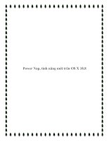 Tài liệu Power Nap, tính năng mới trên OS X 10.8 ppt