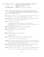 Tài liệu Đề thi HSG trên máy tính cầm tay 2012 môn toán khối 12 hệ GDTX pdf