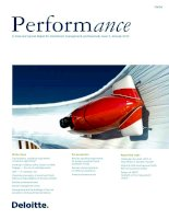 Tài liệu Performance - A triannual topical digest for investment management professionals, issue 7, January 2012 pptx
