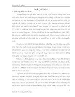 """Tài liệu Đề tài """"Tìm hiểu thực trạng nhận thức, thái độ và hành vi của học sinh THPT về sức khoẻ sinh sản, trên địa bàn huyện Yên Khánh, tỉnh Ninh Bình"""" potx"""