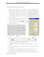 Tài liệu bài tập ứng dụng SAP - giảm nội lực cho dầm Limon cầu thang docx