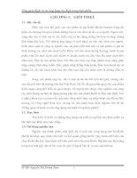 tổng quan về kefir và các ứng dụng của kefir trong thực phẩm