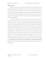 Tài liệu Đề tài:Tình hình kinh doanh của công ty Cổ Phần Đầu Tư và Xây Dựng Công Nghiệp – Xí Nghiệp Xây Dựng Số 18 doc