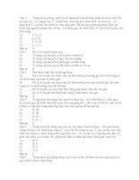 Tài liệu Bài tập các phương pháp chon giống chon lọc pptx