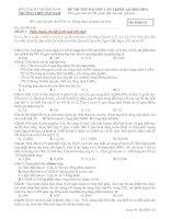 Tài liệu ĐỀ THI THỬ ĐẠI HỌC LẦN 2 KHỐI A,B 2012-2013 docx
