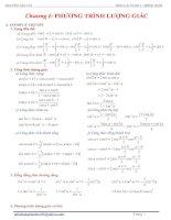 Tài liệu Ôn tập Phương trình lượng giác pdf