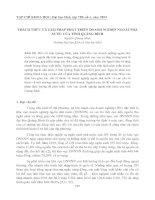 Tài liệu THÁCH THỨC VÀ GIẢI PHÁP PHÁT TRIỂN DOANH NGHIỆP NGOÀI NHÀ NƯỚC CỦA TỈNH QUẢNG BÌNH ppt