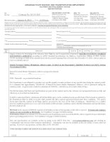 Tài liệu ARKANSAS STATE HIGHWAY AND TRANSPORTATION DEPARTMENT EQUIPMENT AND PROCUREMENT DIVISION BID INVITATION doc