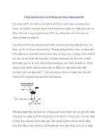 Tài liệu Tổng hợp hóa học và sử dụng các đoạn oligonucleotit doc
