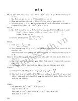 Tài liệu Tuyển Tập 45 Đề Ôn Thi Đại Học Toán 2013 - Đề 2 ppt