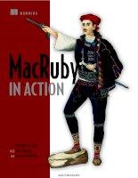 Tài liệu MacRuby in Action pptx