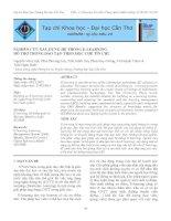 Tài liệu NGHIÊN CỨU XÂY DỰNG HỆ THỐNG E-LEARNING HỖ TRỢ TRONG ĐÀO TẠO THEO HỌC CHẾ TÍN CHỈ doc
