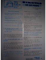 Tài liệu Một số dạng toán thường gặp về số phức docx