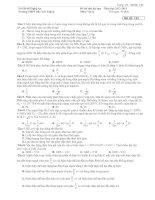 Tài liệu Đề Thi Đại Học Khối A, A1 Vật Lý 2013 - Phần 7 - Đề 5 pptx