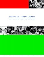 Tài liệu GROWING UP in NORTH AMERICA: Child Health and Safety in Canada, the United States, and Mexico pptx