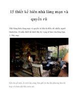 Tài liệu 15 thiết kế hiên nhà lãng mạn và quyến rũ pot