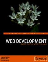 giáo trình học thiết kế web