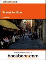 Tài liệu Travel to Nice pptx