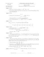 Tài liệu Đề Thi Học Sinh Giỏi Lớp 12 Toán 2013 - Phần 1 - Đề 2 pdf