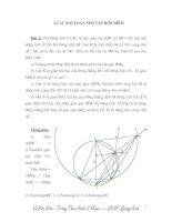 Bài toán quỹ tích: Tìm tập hợp điểm