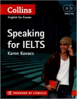 Tài liệu Speaking For IELTS (Collins Cobuild) part 1/4 pptx