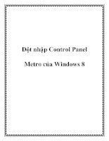 tai lieu dot nhap control panel metro cua windows 8 pdf