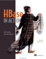 Tài liệu HBase in Action docx