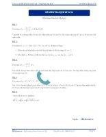 Đề kiểm tra định kỳ lần 1 2013 - môn toán