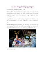 Tài liệu Lọ hoa đáng yêu từ giấy gói quà docx