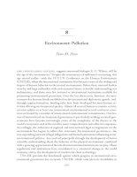 Tài liệu Environment: Pollution docx