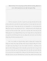 Tài liệu Phân tích đoạn trích Trong lòng mẹ để làm nổi bật cảm hứng nhân đạo và ký ức tuổi thơ gắn tình mẹ của nhà văn Nguyên Hồng ppt
