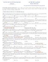 Tài liệu Đề Thi Thử Đại Học Khối A, B Hóa 2013 - Phần 11 - Đề 24 docx