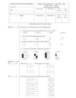 Tài liệu Đề thi giữa kỳ II môn Tiếng Việt lớp 4 năm 2009-2010 pptx