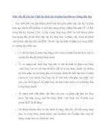 Tài liệu Mấy vấn đề cần lưu ý khi ấn định chỉ số phân loại Dewey (bảng đầy đủ) pdf